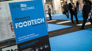 Interior del salón BTA, que este año pasa a llamarse Foodtech Barcelona 2018